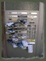 139263 crammed mailbox